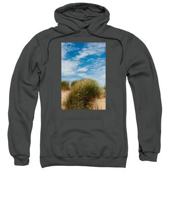 Formby Sand Dunes And Sky Sweatshirt
