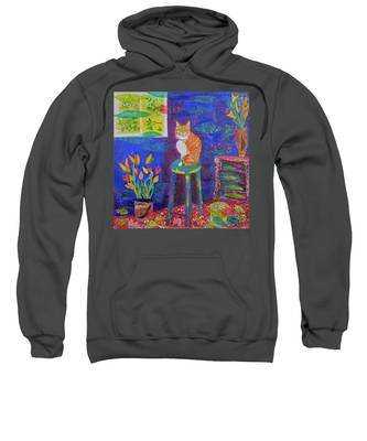 Ginger The Cat Sweatshirt