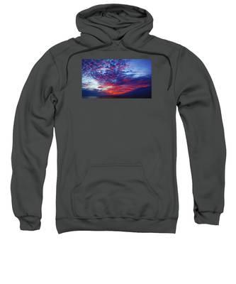 Hand Of God At Sunrise Sweatshirt