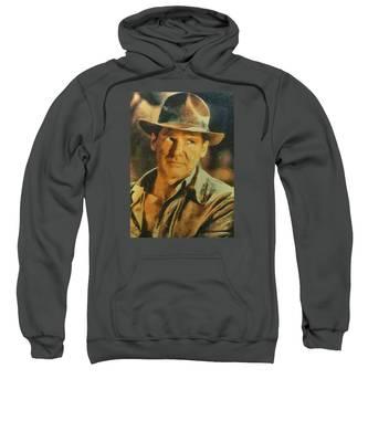 Harrison Ford As Indiana Jones Sweatshirt
