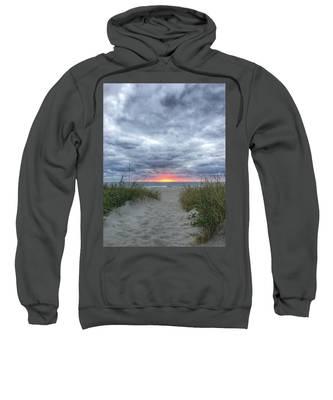 Hope On The Horizon Delray Beach Florida  Sweatshirt
