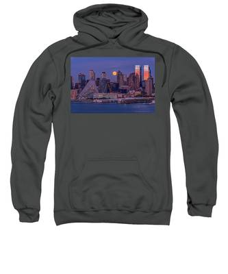 Hunter's Moon Over Ny Sweatshirt