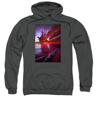I Wake As A Child To See The World Begin Sweatshirt
