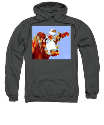 Purple Cow Sweatshirt