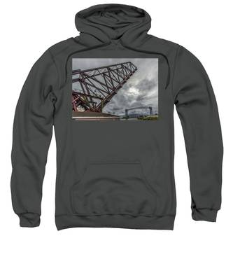 Jackknife Bridge To The Clouds Sweatshirt by Lon Dittrick