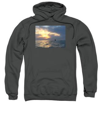 Watching Over The Inlet Sweatshirt