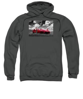 Just Red 1 2002 Enzo Ferrari Sweatshirt