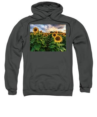 Long Island Sunflowers  Sweatshirt