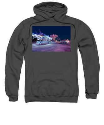 Merry Go Creepy Sweatshirt