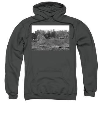 Mill At Clinton Among The Reeds Sweatshirt
