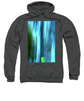 Moving Trees 37-15portrait Format Sweatshirt