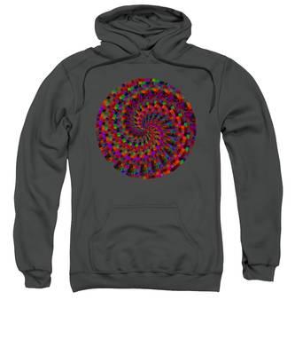 Multicolored Twist Sweatshirt