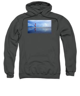 Mysterious Rainbow Girl Sweatshirt