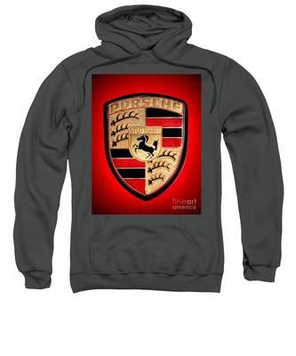 Old Porsche Badge Sweatshirt