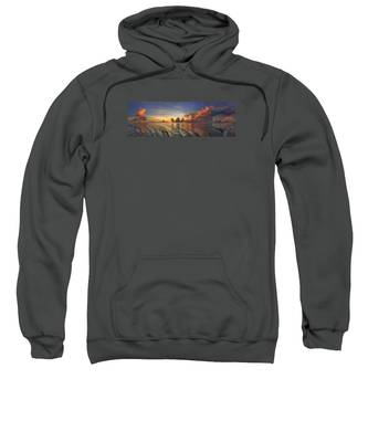 Orange Panorama Sweatshirt