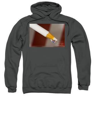 Pencil Flag Drop Sweatshirt