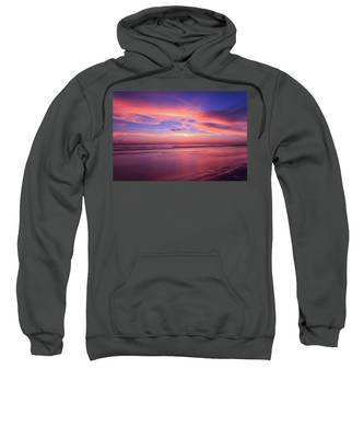 Pink Sky And Ocean Sweatshirt