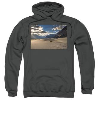 Rays On Dunes Sweatshirt