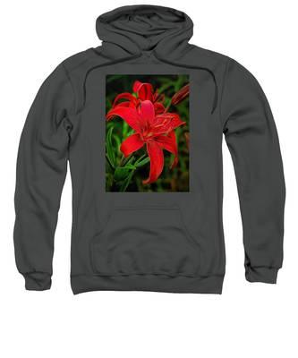Red Lily Sweatshirt