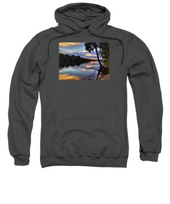 Red Tranquility  Sweatshirt