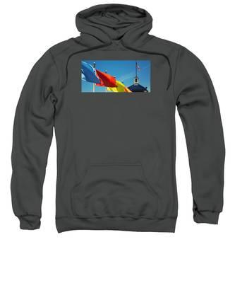 Redondo Beach Flags Sweatshirt