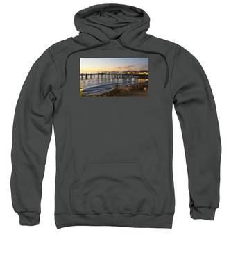Redondo Pier At Sunset Sweatshirt