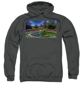 Reflecting Pool At Colonial Park Sweatshirt