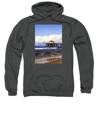 Reflections On The Pier Sweatshirt