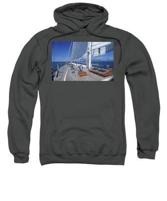 Relaxing On Deck Sweatshirt