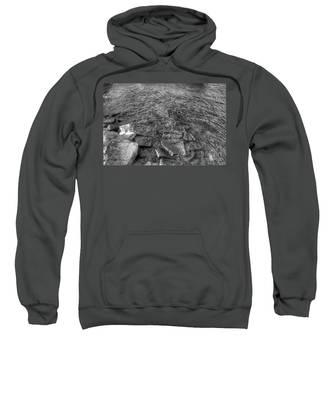 Ripples On Lake Champlain Sweatshirt
