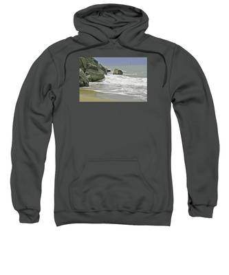 Rocks, Sand And Surf Sweatshirt