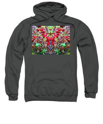 Rosehip Necklace Sweatshirt