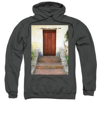 Sacred Heart Door Sweatshirt