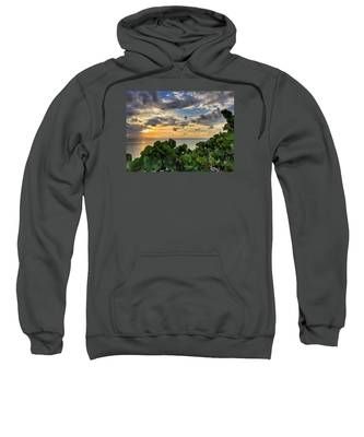 Sea Grape Sunrise Sweatshirt