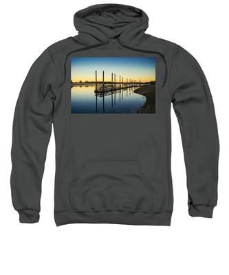 Serenity Sunset Kings Park New York Sweatshirt