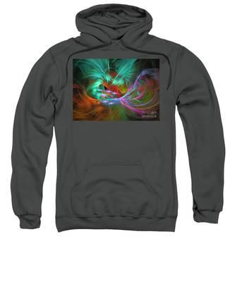 Spring Riot - Abstract Art Sweatshirt