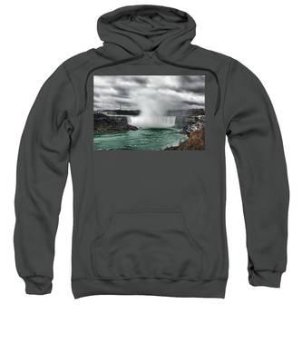 Storm At Niagara Sweatshirt