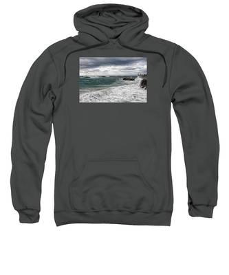 Stormy Day On Redondo Sweatshirt