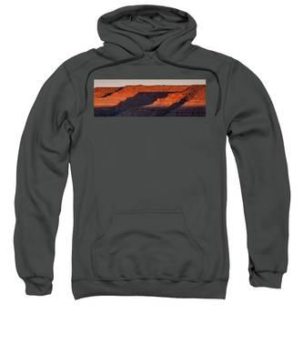 Sunrise Cascade Sweatshirt by Lon Dittrick
