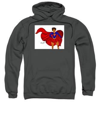 Superhero Hooded Sweatshirts T-Shirts