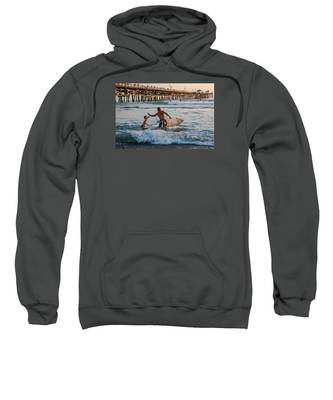 Surfboard Inspirational Sweatshirt
