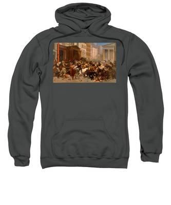 The Bulls And Bears In The Market Sweatshirt