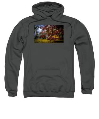 The Cabin In Autumn Sweatshirt