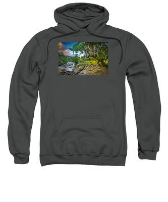 The River At Cocora Sweatshirt