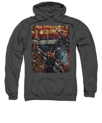 The Scream After Edvard Munch Sweatshirt
