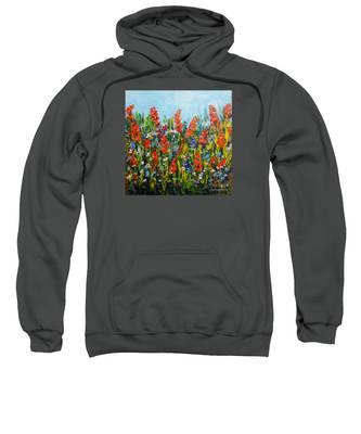 Through The Wild Flowers Sweatshirt