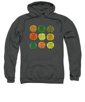 Foliage Hooded Sweatshirts T-Shirts