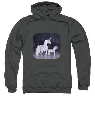 Unicorns In The Mist Sweatshirt