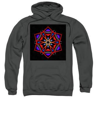 Utron Star Sweatshirt by Derek Gedney