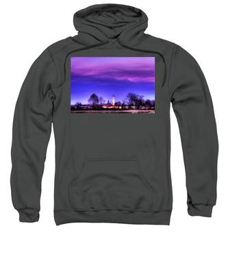 View Of San Giorgio Lomellina Sweatshirt